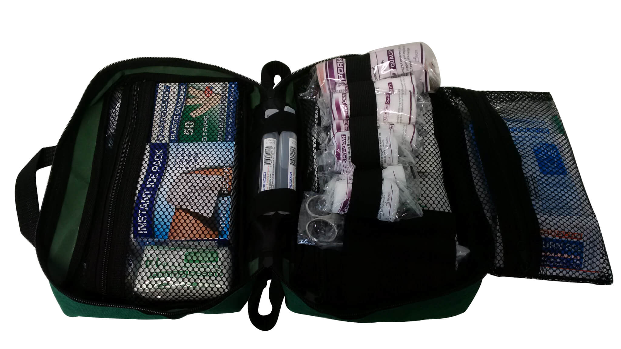 Green First Aid Bag Medium